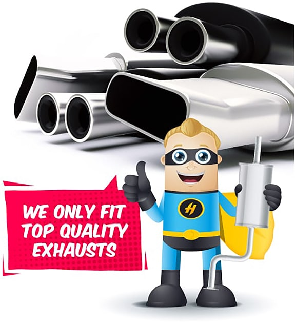 top quality exhaust parts