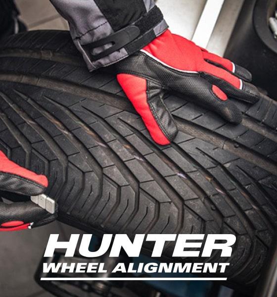 hunter wheel balancing