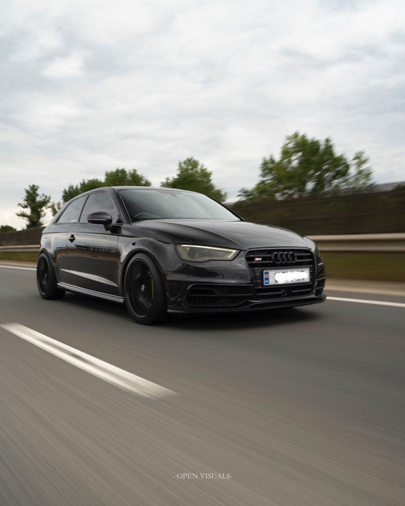 Audi S3 lowered